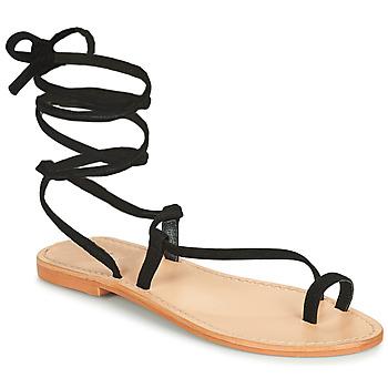 Čevlji  Ženske Sandali & Odprti čevlji Jonak WALT Črna