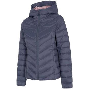 Oblačila Ženske Puhovke 4F KUDP004 Mornarsko modra