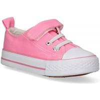Čevlji  Deklice Nizke superge Luna Collection 57724 Rožnata
