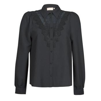 Oblačila Ženske Srajce & Bluze Moony Mood ABBECOURS Črna