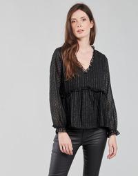 Oblačila Ženske Topi & Bluze Moony Mood ABBENANT Črna