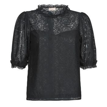 Oblačila Ženske Topi & Bluze Moony Mood ABBEILHANS Črna