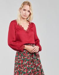 Oblačila Ženske Topi & Bluze Moony Mood ABITAIN Rdeča