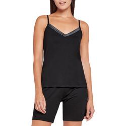 Oblačila Ženske Pižame & Spalne srajce Impetus Woman 8402H87 020 Črna
