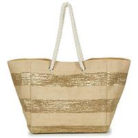 Torbice Ženske Nakupovalne torbe Betty London  Bež / Zlata