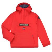 Oblačila Otroci Parke Napapijri RAINFOREST POCKET Rdeča