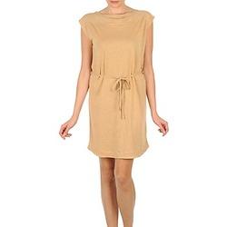 Oblačila Ženske Kratke obleke Majestic CAMELIA Bež