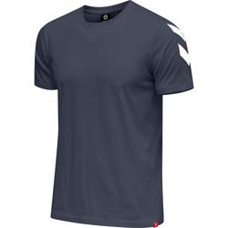 Oblačila Moški Majice s kratkimi rokavi Hummel T-shirt  hmlLEGACY chevron bleu foncé