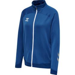 Oblačila Ženske Športne jope in jakne Hummel Veste zippée femme  hmlLEAD poly bleu