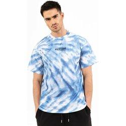 Oblačila Moški Majice s kratkimi rokavi Sixth June T-shirt  tie dye bleu