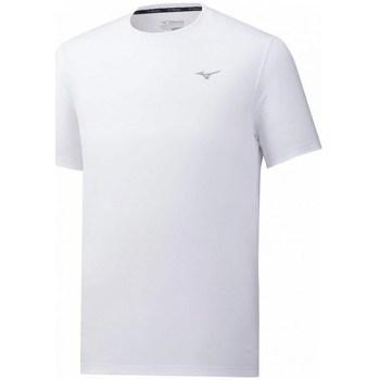 Oblačila Moški Majice s kratkimi rokavi Mizuno Impulse Core Tee Bela