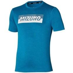 Oblačila Moški Majice s kratkimi rokavi Mizuno Core Graphic Tee Modra