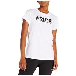 Oblačila Ženske Majice s kratkimi rokavi Asics Katakana Graphic Tee Bela