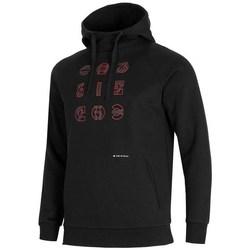 Oblačila Moški Puloverji 4F BLM014 Črna