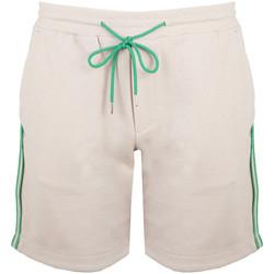 Oblačila Moški Kratke hlače & Bermuda Bikkembergs  Bež