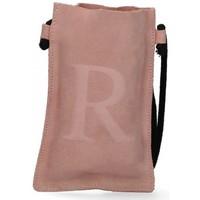 Torbice Ženske Ročne torbice Luna Collection 57799 Rožnata