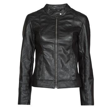 Oblačila Ženske Usnjene jakne & Sintetične jakne JDY JDYEMILY Črna