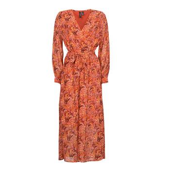 Oblačila Ženske Dolge obleke Vero Moda VMFLOW Rdeča