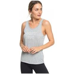 Oblačila Ženske Majice brez rokavov Roxy CAMISETA TIRANTES MUJER  ERJZT04535 Siva