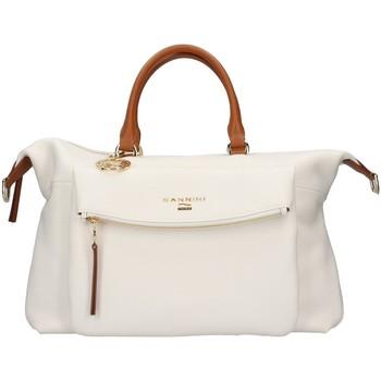 Torbice Ženske Ročne torbice Nannini 16468B WHITE