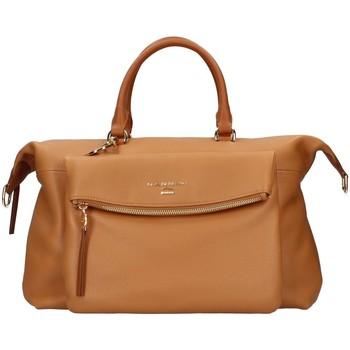Torbice Ženske Ročne torbice Nannini 16468B BROWN