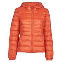 Oblačila Ženske Puhovke Only ONLTAHOE Oranžna