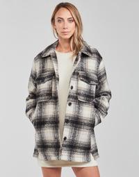 Oblačila Ženske Jakne & Blazerji Only ONLALLISON Črna / Kremno bela