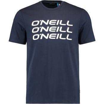 Oblačila Moški Majice s kratkimi rokavi O'neill Triple Stack Modra
