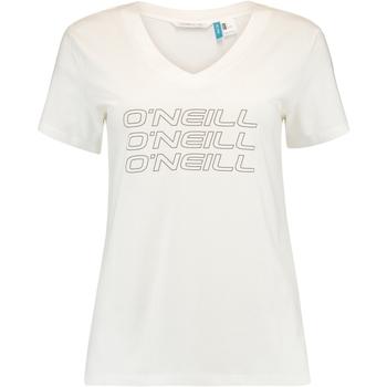 Oblačila Ženske Majice s kratkimi rokavi O'neill Triple Stack Bela