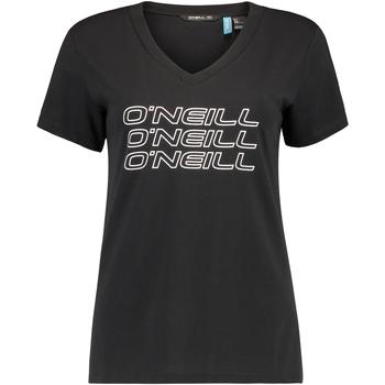 Oblačila Ženske Majice s kratkimi rokavi O'neill Triple Stack Črna