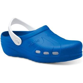 Čevlji  Moški Cokli Feliz Caminar Zuecos Sanitarios Asana - Modra