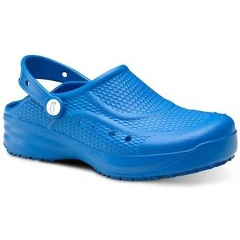 Čevlji  Moški Cokli Feliz Caminar Zueco Laboral Flotantes Evolution - Modra