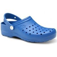 Čevlji  Moški Cokli Feliz Caminar Zuecos Sanitarios Flotantes Gruyere - Modra