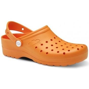 Čevlji  Moški Cokli Feliz Caminar Zuecos Sanitarios Flotantes Gruyere - Oranžna