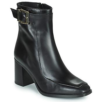Čevlji  Ženske Gležnjarji Fericelli PALAIS Črna