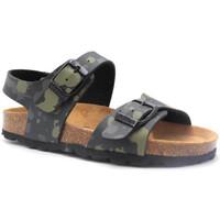 Čevlji  Otroci Sandali & Odprti čevlji Pastelle Elroy Zelena