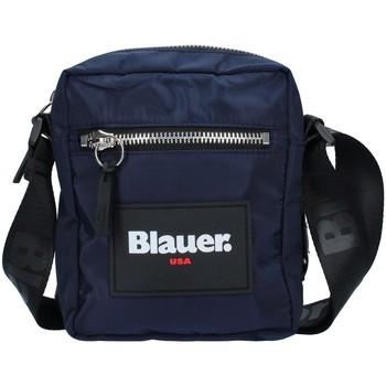 Torbice Moški Torbe za čez ramo Blauer S1COLBY02/TAS NAVY BLUE