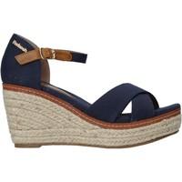 Čevlji  Ženske Sandali & Odprti čevlji Refresh 72879 Modra