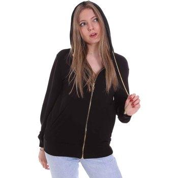 Oblačila Ženske Puloverji Cristinaeffe 4960 Črna