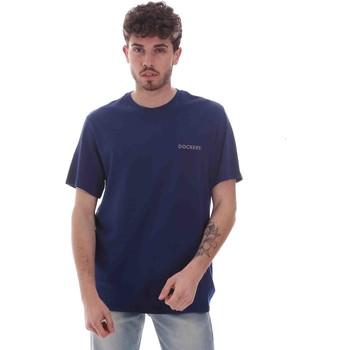 Oblačila Moški Majice s kratkimi rokavi Dockers 27406-0116 Modra