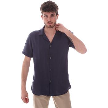 Oblačila Moški Srajce s kratkimi rokavi Sseinse CE588SS Modra