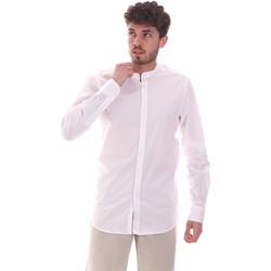 Oblačila Moški Srajce z dolgimi rokavi Sseinse CE639SS Biely