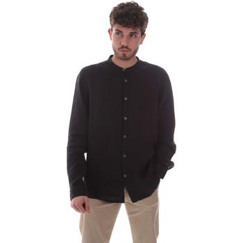 Oblačila Moški Srajce z dolgimi rokavi Sseinse CE643SS Črna