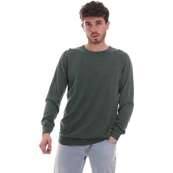 Oblačila Moški Puloverji Sseinse ME1836SS Zelena