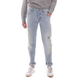 Oblačila Moški Jeans straight Sseinse PJE763SS Modra