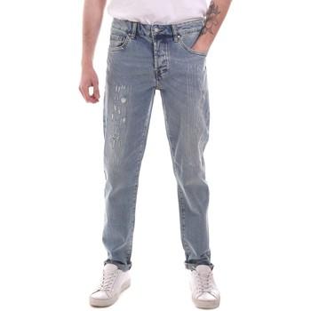 Oblačila Moški Jeans straight Sseinse PJE764SS Modra