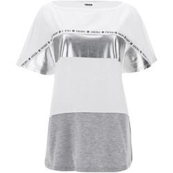Oblačila Ženske Majice s kratkimi rokavi Freddy S1WSDT2M Biely