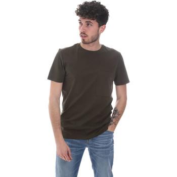 Oblačila Moški Majice s kratkimi rokavi Antony Morato MMKS02023 FA100229 Zelena
