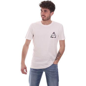 Oblačila Moški Majice s kratkimi rokavi Antony Morato MMKS02005 FA100144 Biely