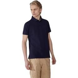 Oblačila Moški Polo majice kratki rokavi Trussardi 52T00492-1T003600 Modra